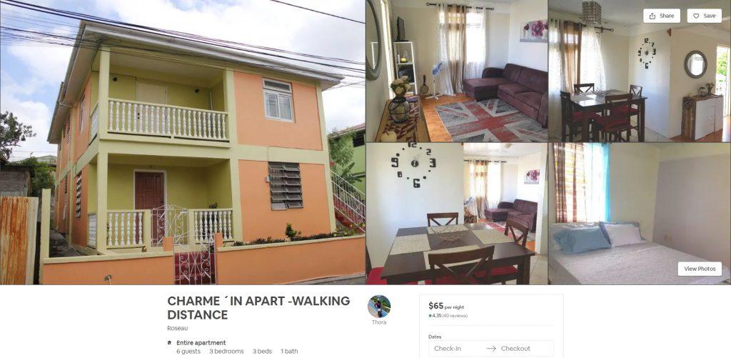 Charming Apartment near Roseau
